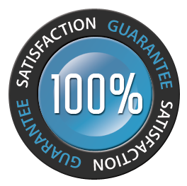 Store Policy Satisfaction Guarantee Logo